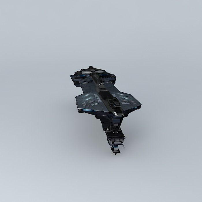 Unsc Spirit Of Fire Model