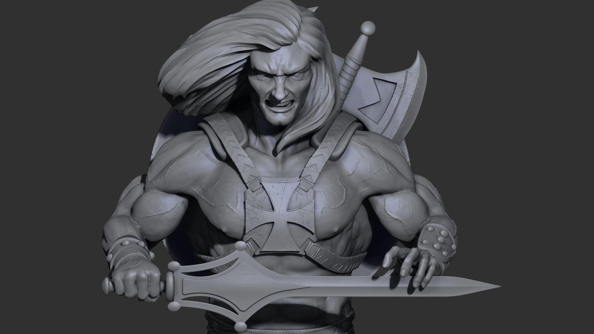 He-Man 3D Print