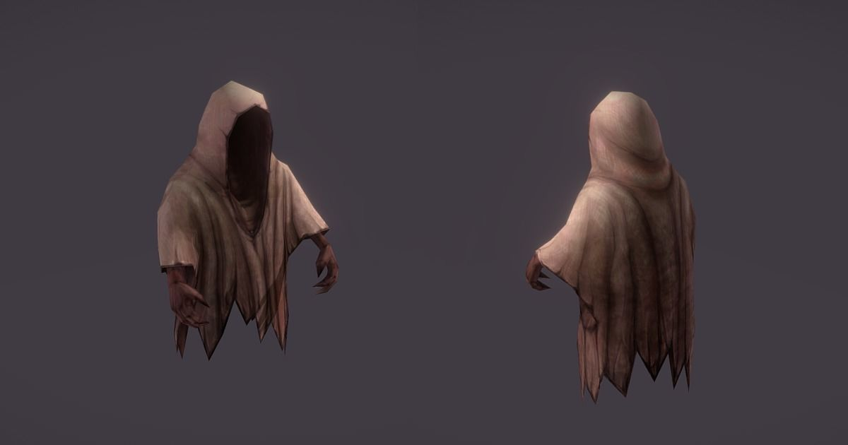 Ghost enemy with animations