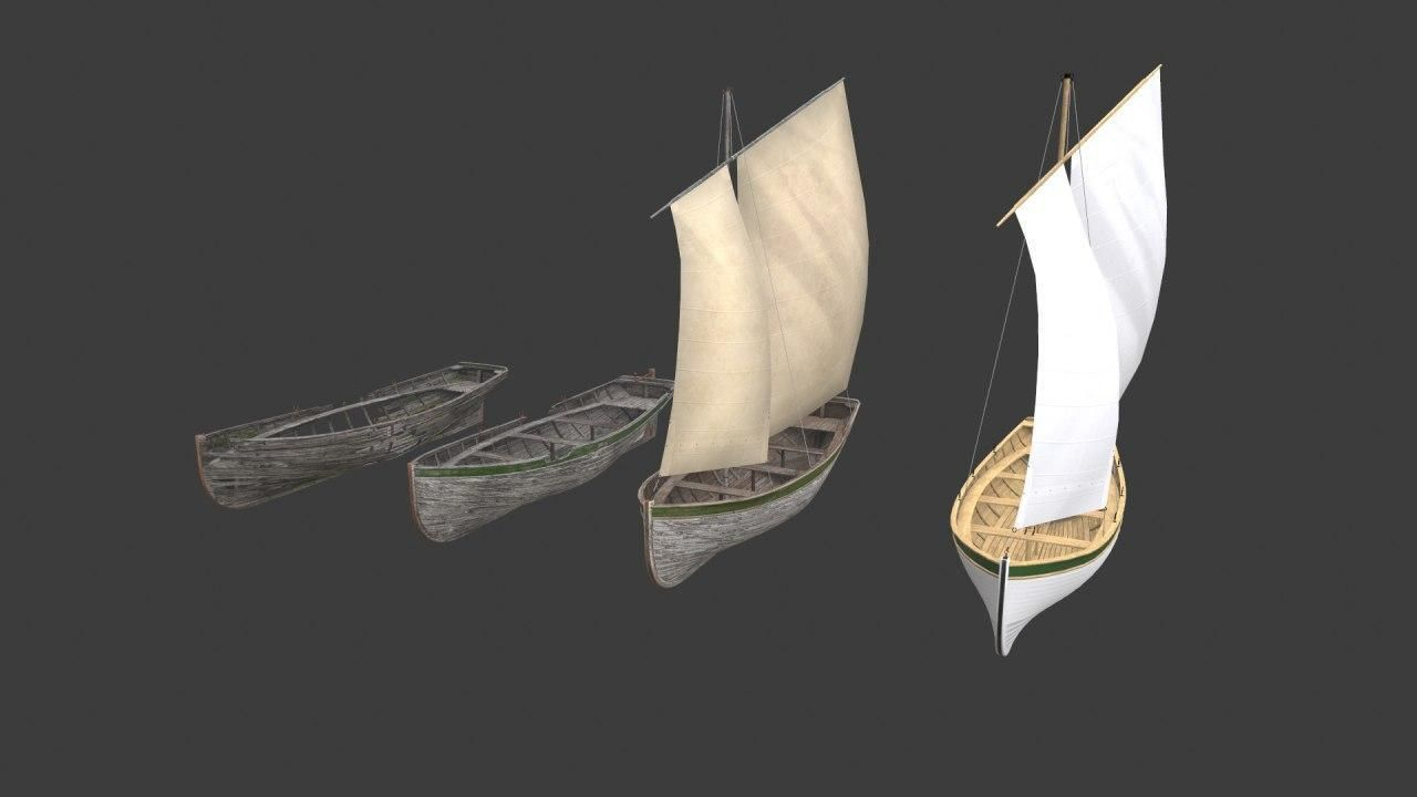 Wooden boats Yal-6