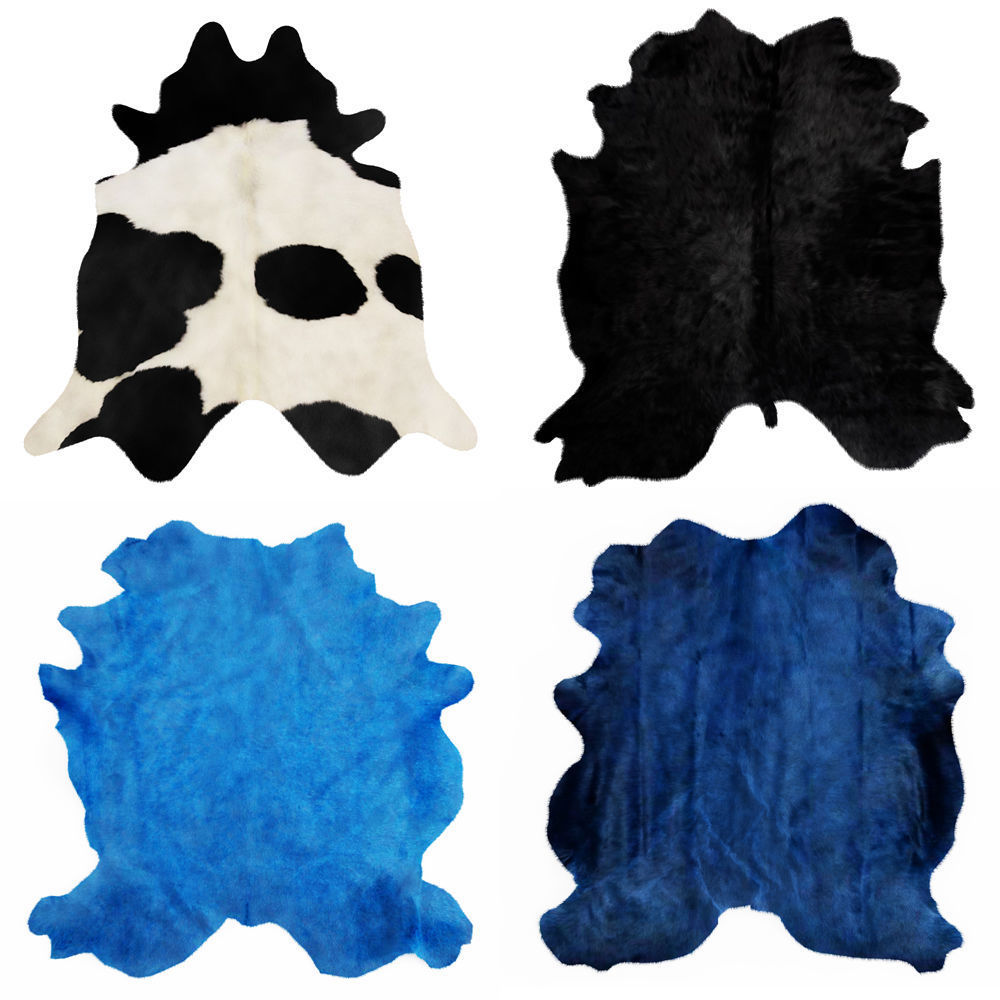 Four rugs from animal skins 02