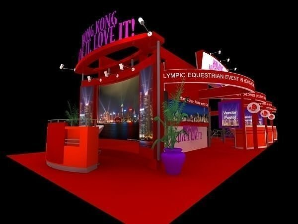Hong Kong Tour Exhibition 6x15 Booth
