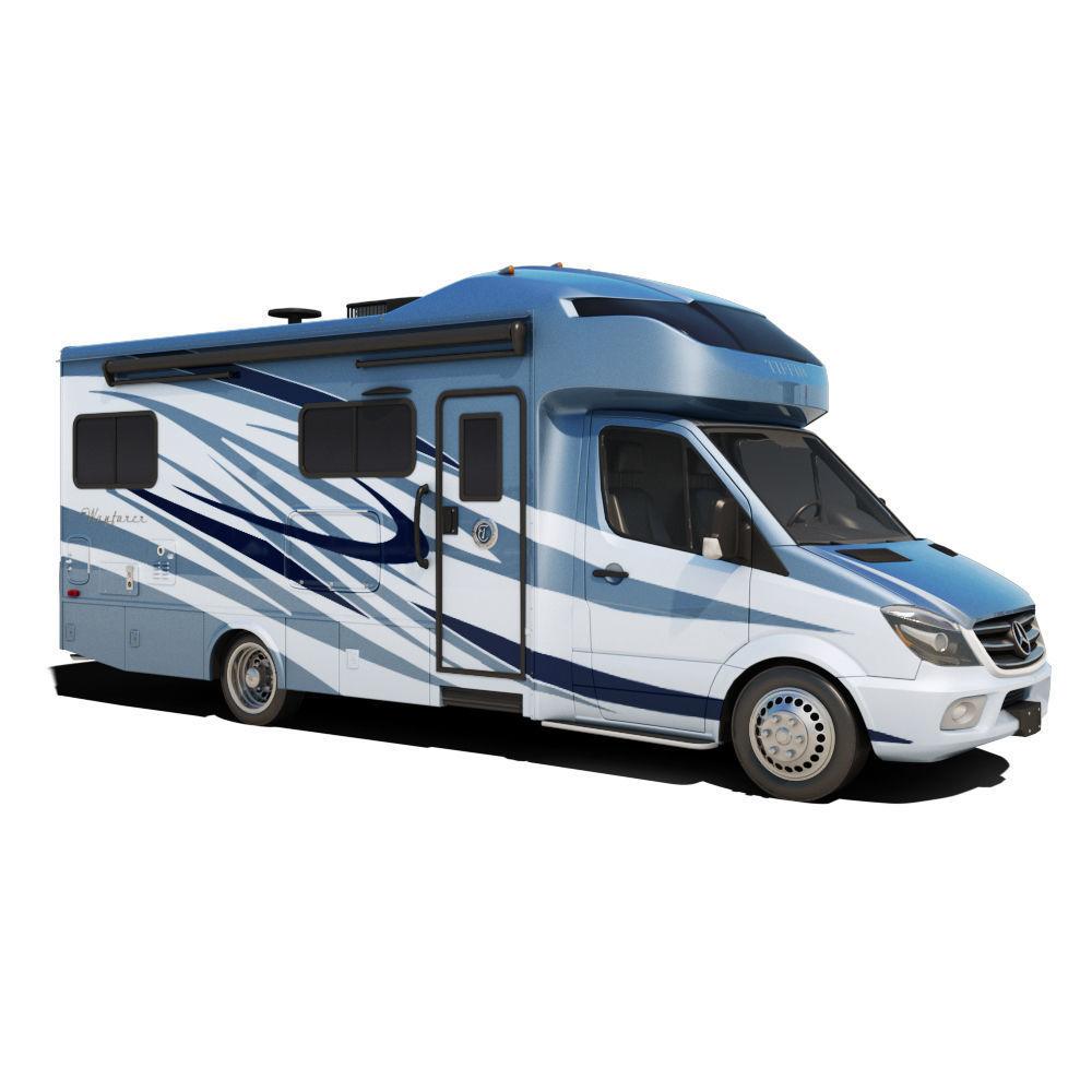 Recreational Vehicle Blue
