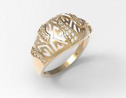 3D print model Ring Labyrinth STL