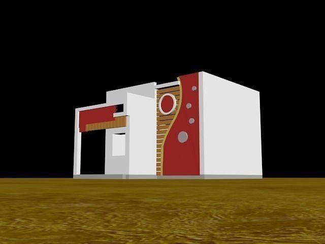 3D Bungalow Home Design