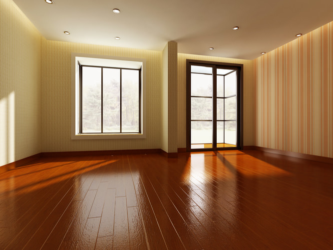 3d model empty room cgtrader for Living with models