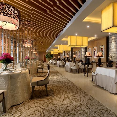 Bar table 3d model restaurant cgtrader for Restaurant 3d max
