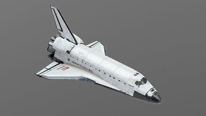 SPACE SHUTTLE Atlantis Exterior Only