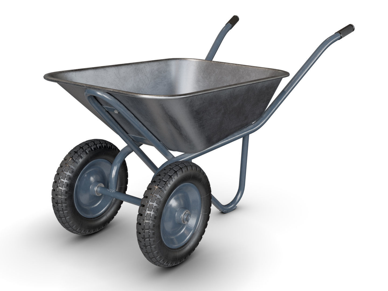 Wheelbarrow Gray