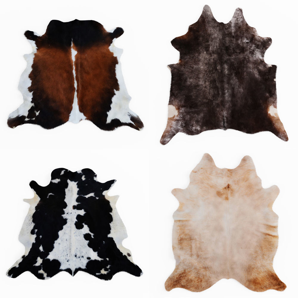Four rugs from animal skins 04
