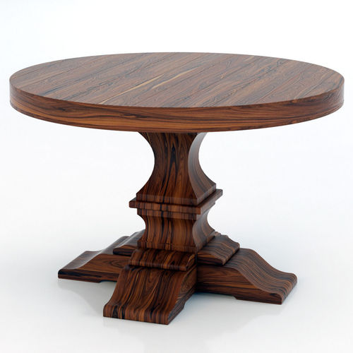 Restoration Hardware Dumont Round Dining Table 3D model  : restoration hardware dumont round dining table 3d model max from www.cgtrader.com size 500 x 500 jpeg 30kB