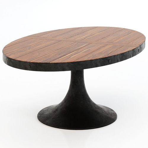 Restoration Hardware Aero Oval Dining Table 3D Model