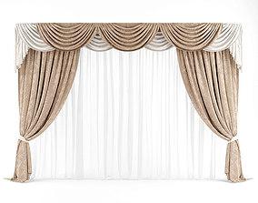 Curtain 3D model 26