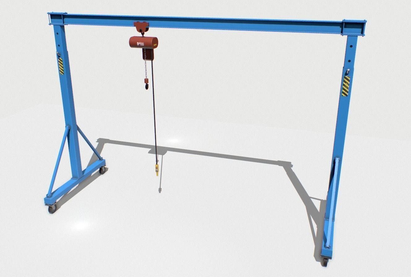 Gantry Crane 1 PBR