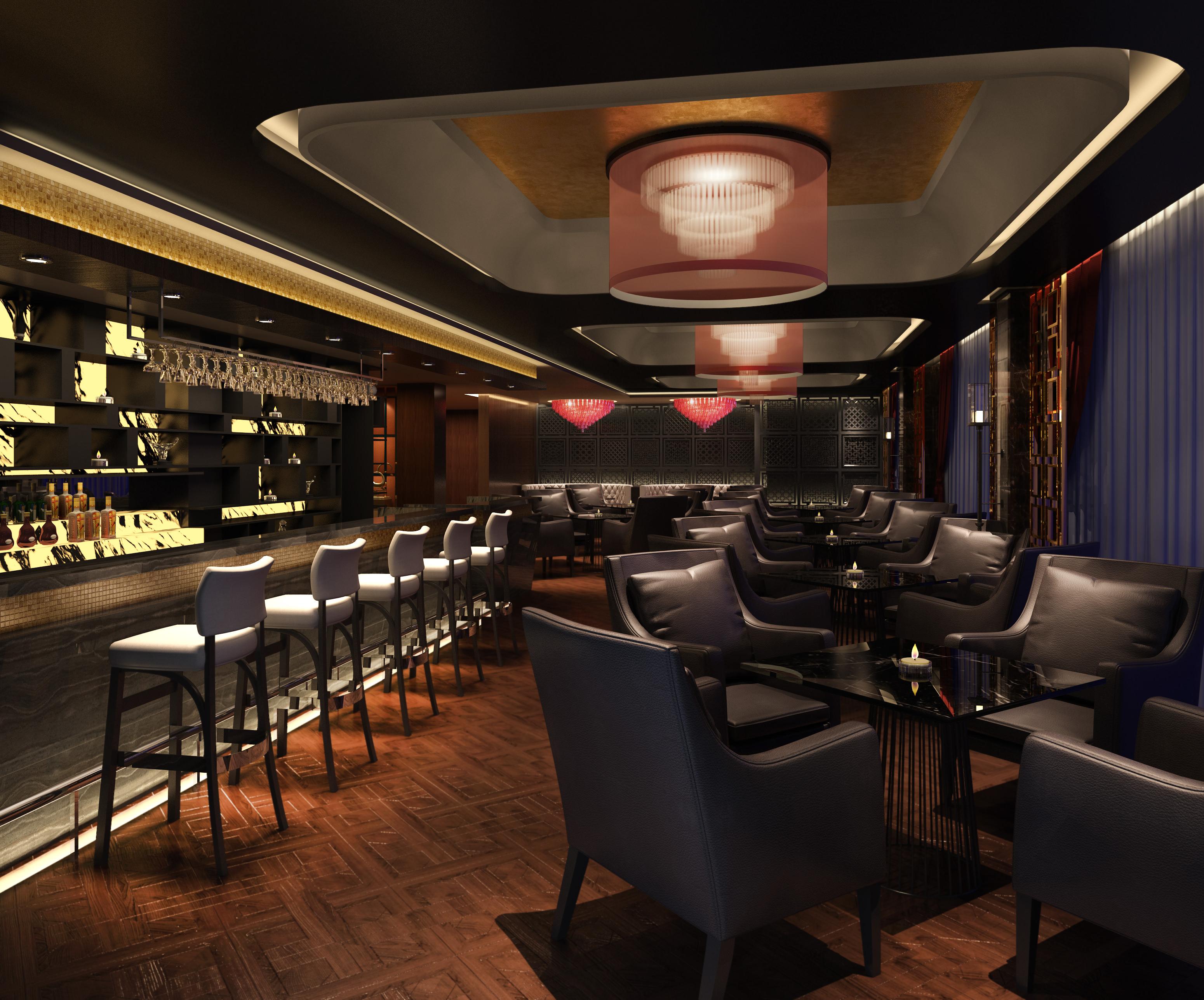Restaurant Kitchen 3d Model restaurant bar 24578 3d model | cgtrader