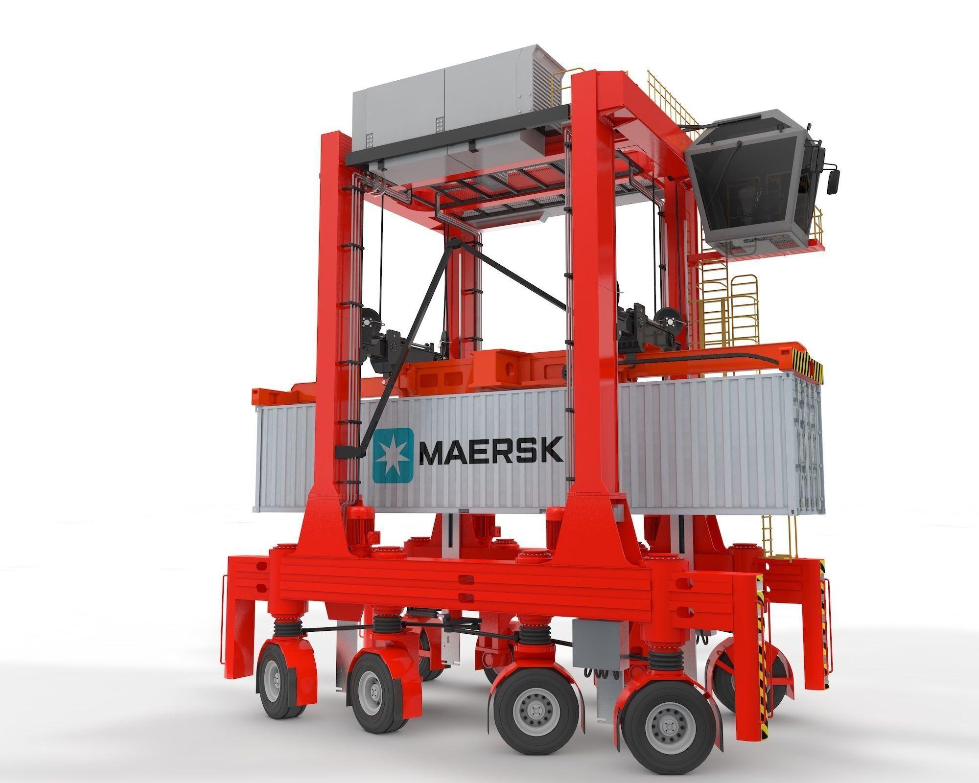 Straddle Carrier for Port
