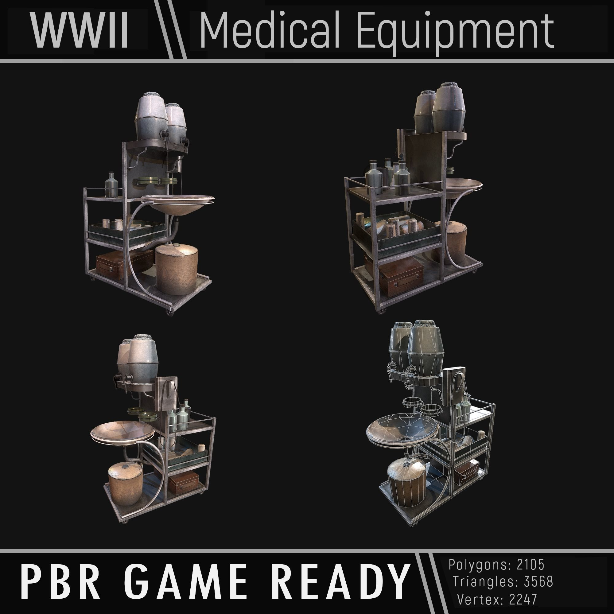 Medical Equipment WWII
