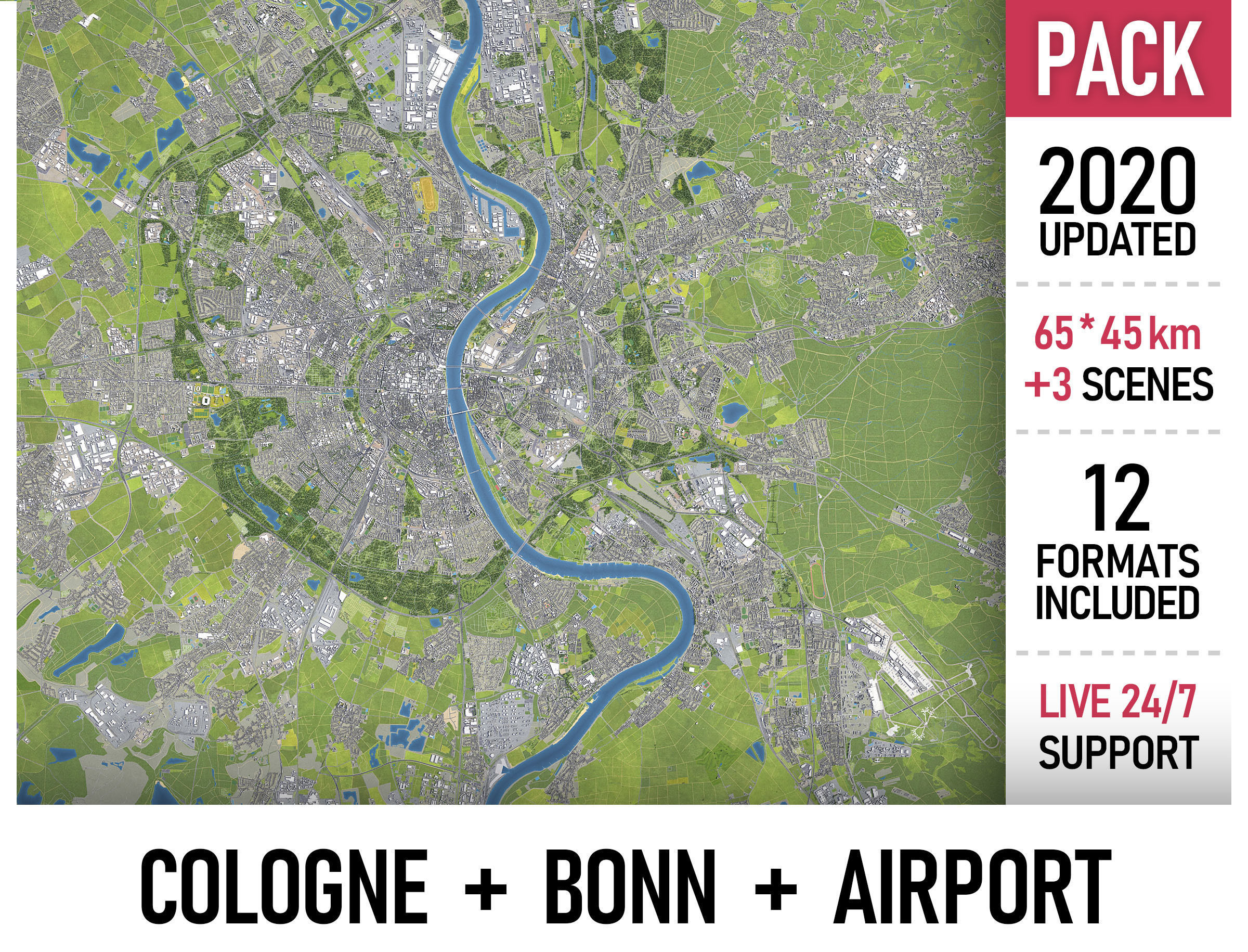 Cologne - Bonn - CGN Airport - megapack