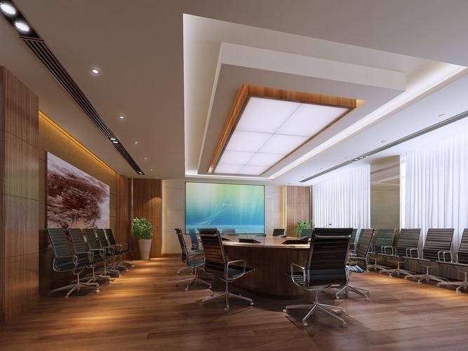 conference room 3d model max 1