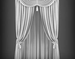 Curtain 3D model 66