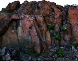 stone wall i 3d