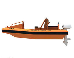 3d rescue boat 01