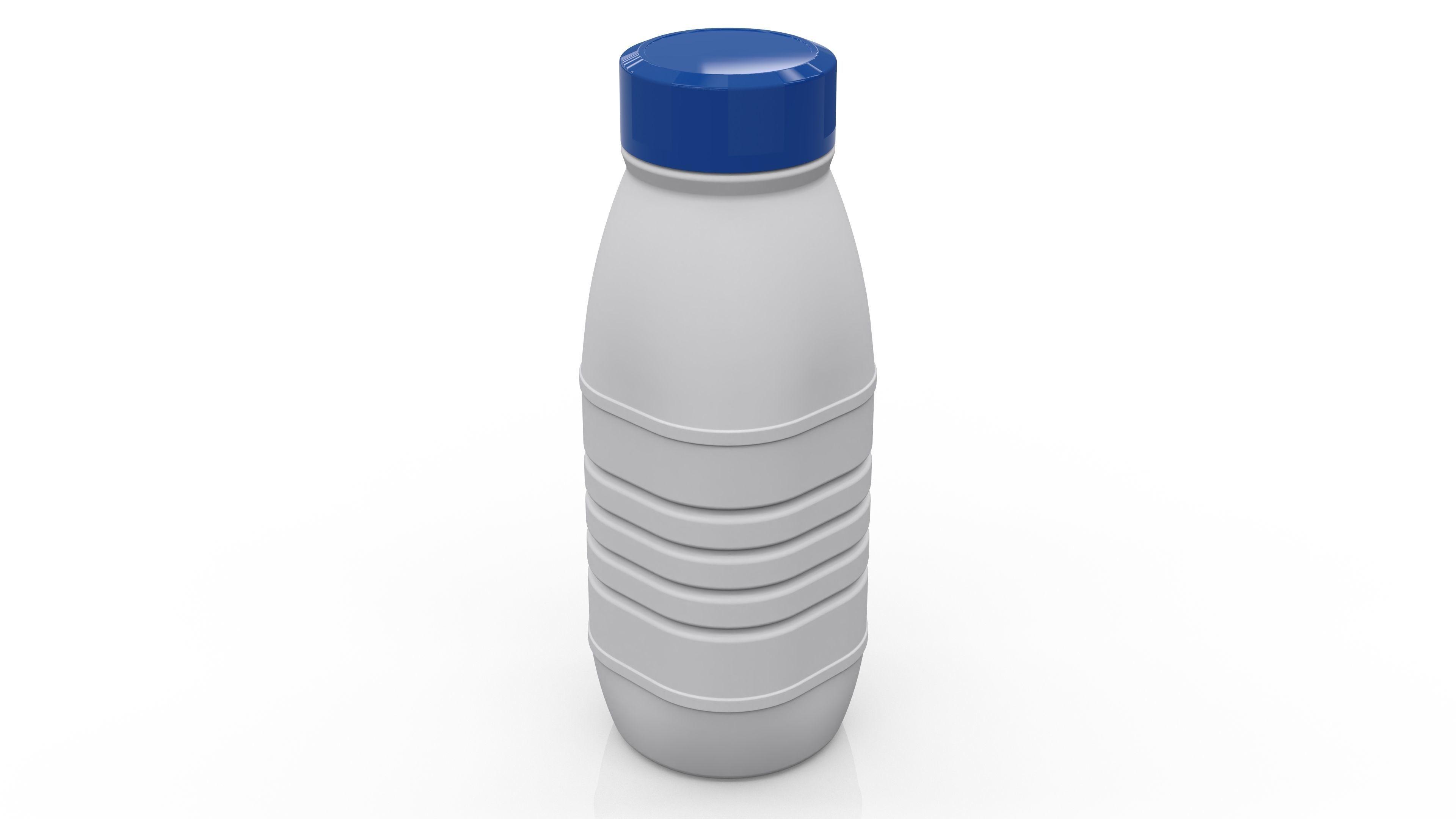 Polyethylene Bottle HDPE 500 mL - for water - drinks - milk