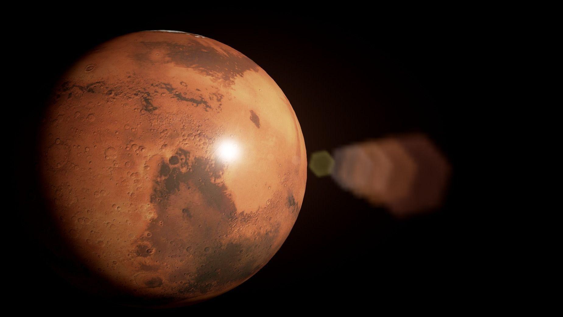 model of planet mars - photo #2