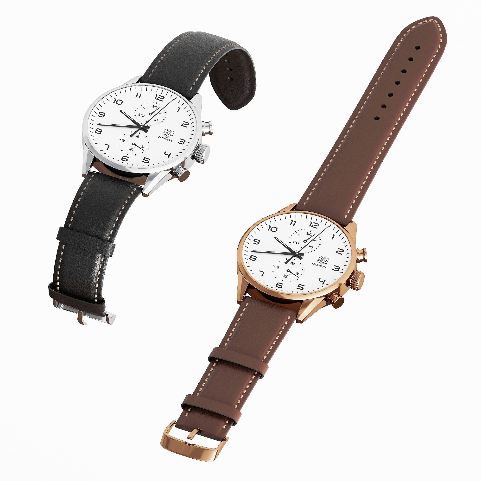 TAG Heuer watch 3d model