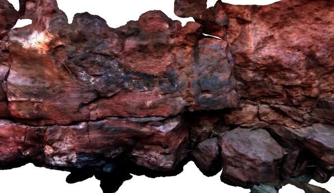 stone wall ii 3d model obj 3ds mtl ply 1