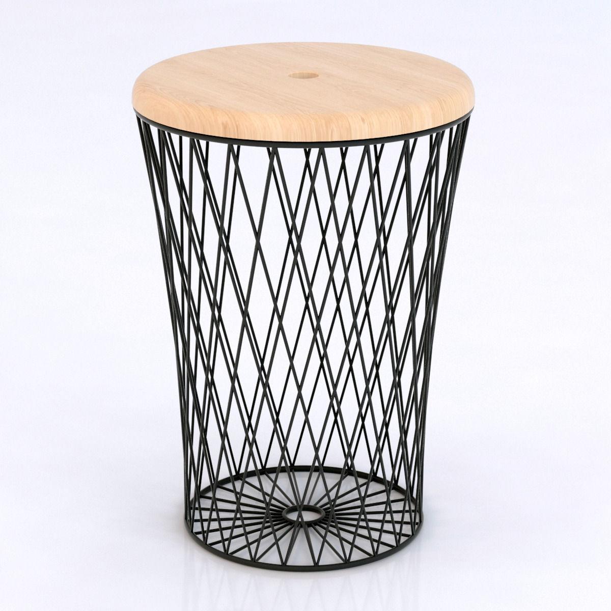 boconcept stool 3d model max obj 3ds fbx mtl. Black Bedroom Furniture Sets. Home Design Ideas