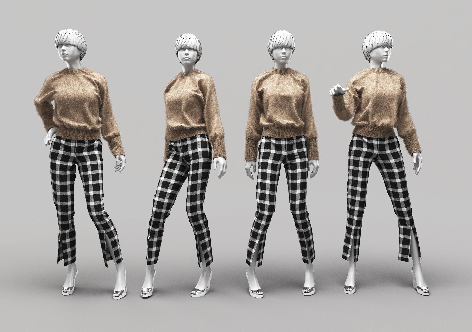 Woman Mannequin 10