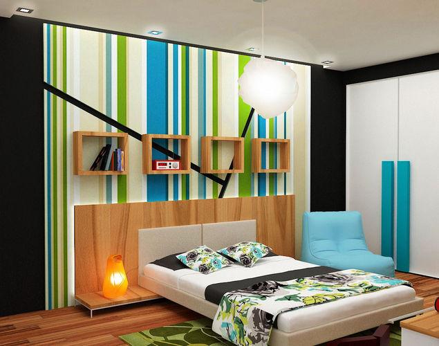 3D model architectural kids bedroom | CGTrader