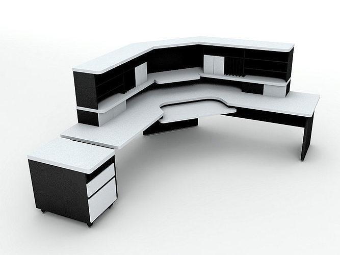 Office Computer Desk Workstation 2