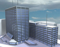 New Scotland Yard 3D model