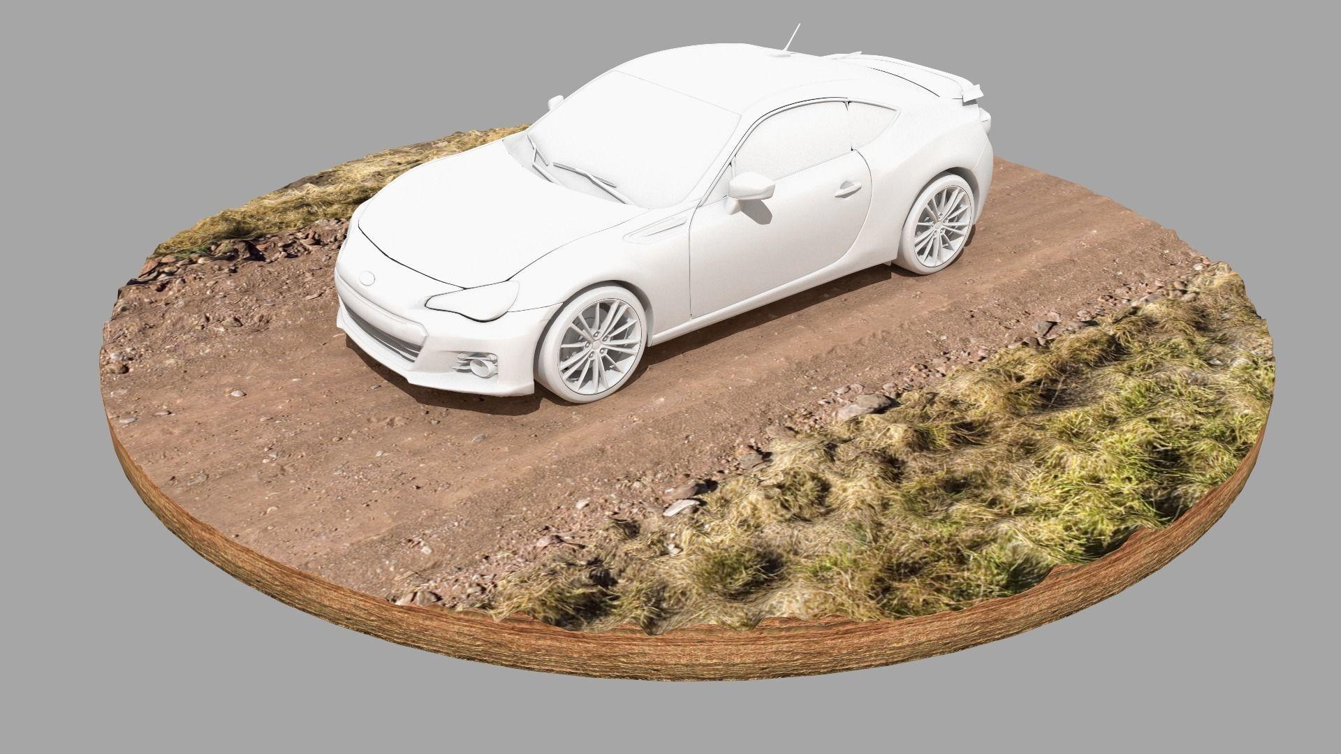 Dirt Road Vehicle Plinth