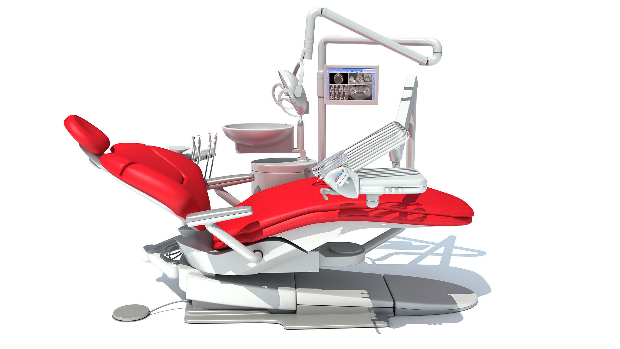Dental Treatment Station with Chair