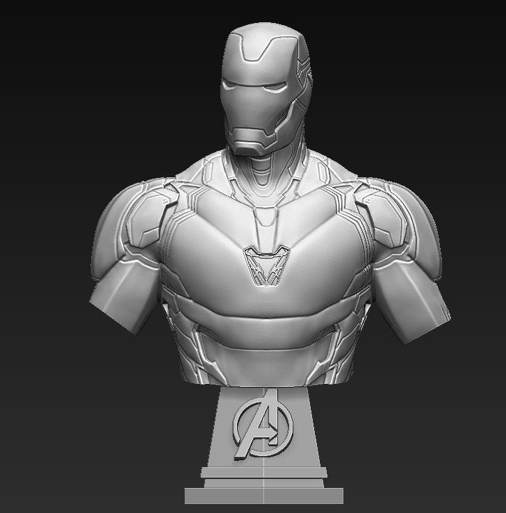 Iron Man MK85 Bust