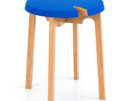 boconcept stool 2 3d model