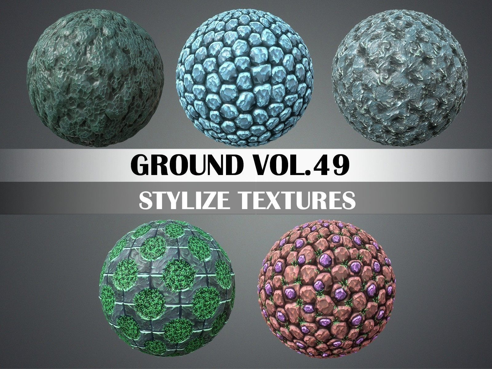 Ground Vol 49 - Game PBR Textures