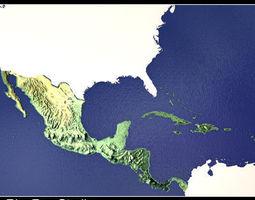3D CENTRAL AMERICA