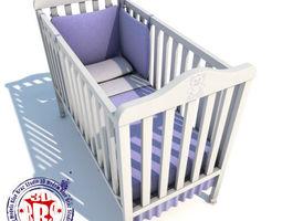 3D Baby crib 01