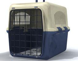 3D model pet cage 01