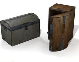 old trunk 3D model