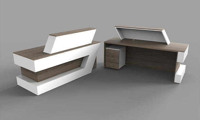 Reception desk and Executive Table Office Furniture set