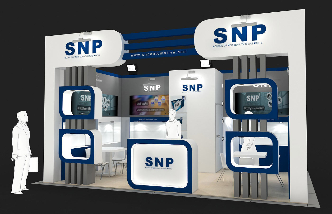 Exhibition Stand - ST0037