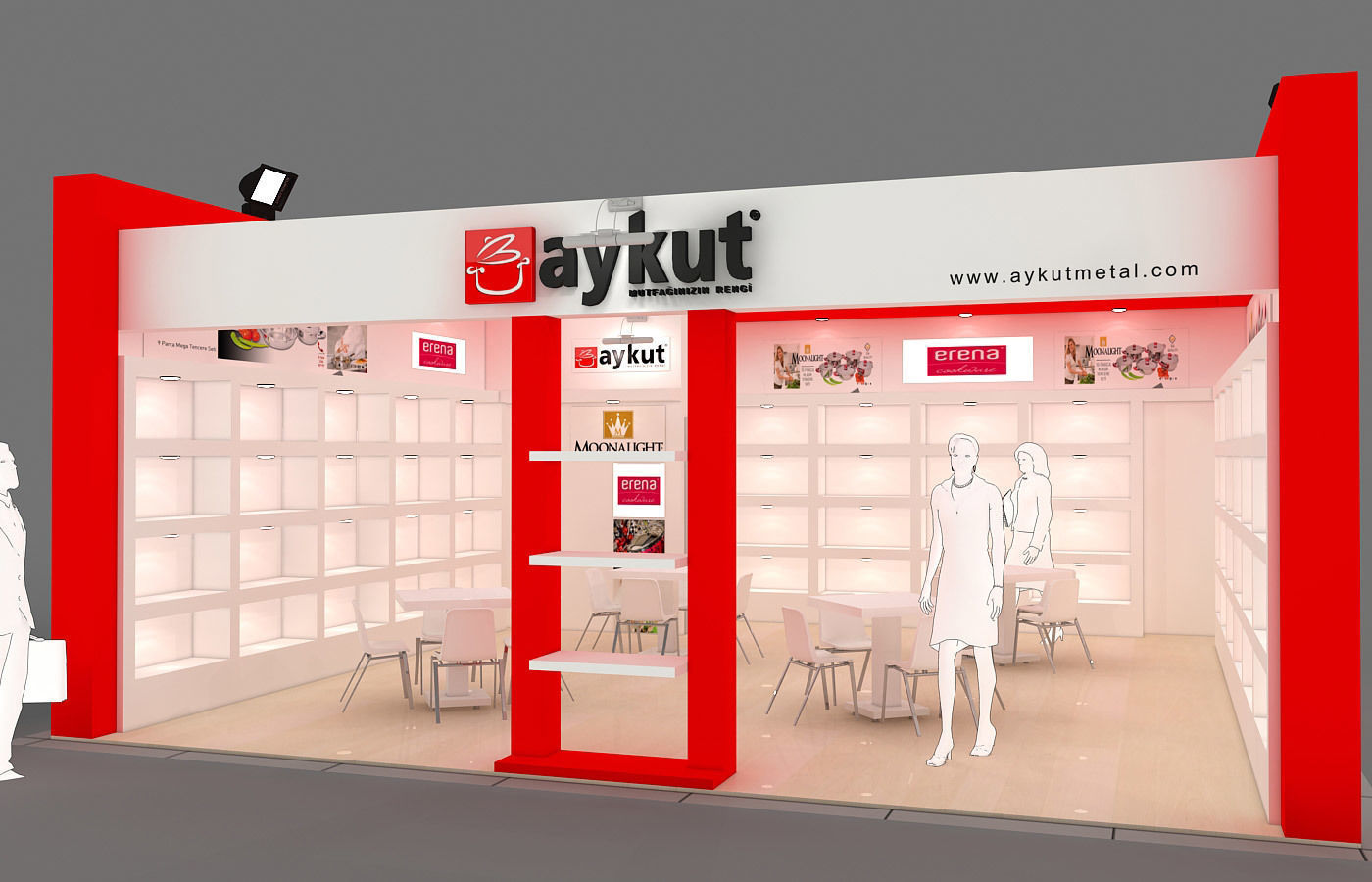 Exhibition Stand - ST0041