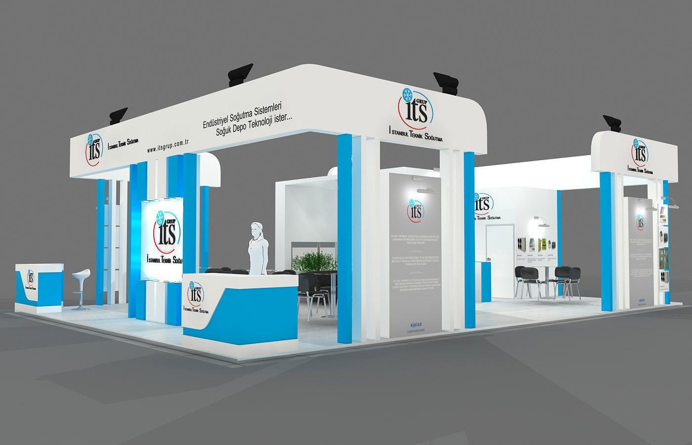 Exhibition Stand - ST0046