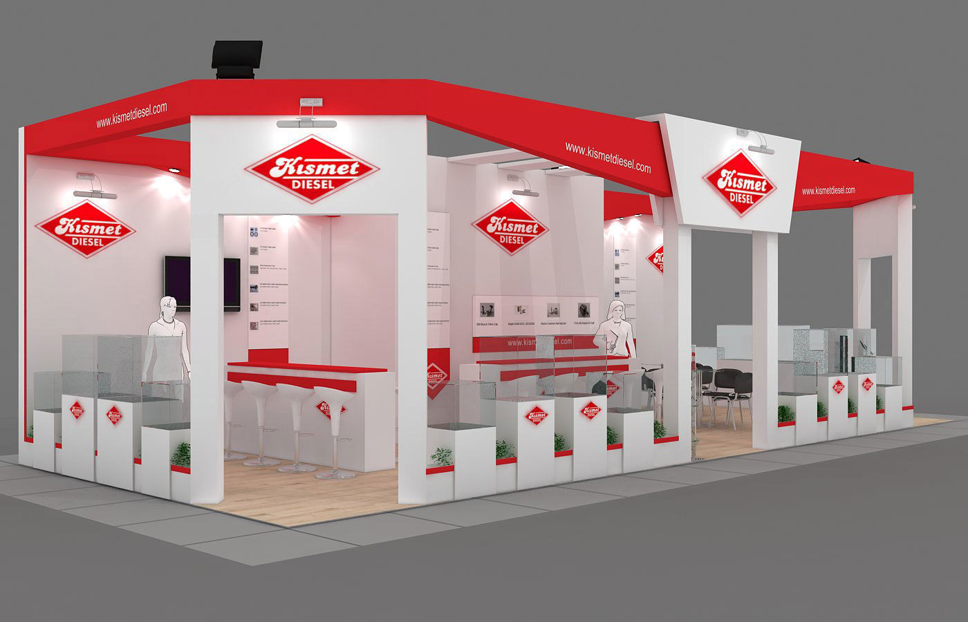 Exhibition Stand - ST0047