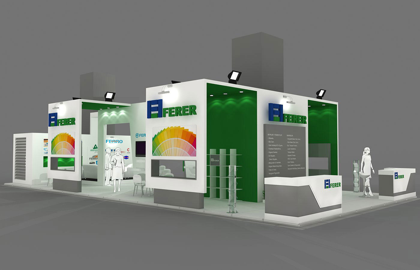 Exhibition Stand - ST0068